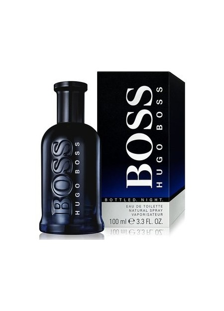 Perfume Hugo Boss Tester Bottled Night Edt 100 Ml