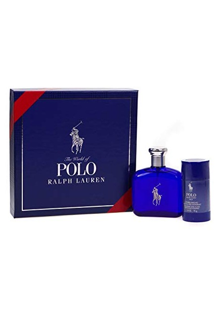 Perfume Ralph Lauren Set Polo Blue Pcs Edt 125 Ml (h)