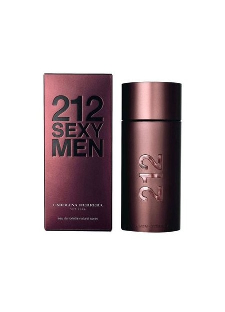 Perfume Carolina Herrera 212 Sexy Men Edt 100 Ml (h)