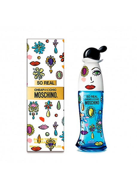 Perfume So Real Moschino 100 ML mujer