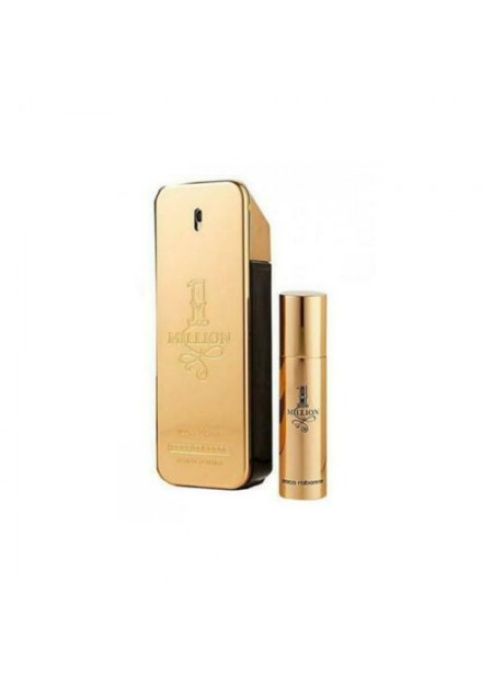 Paco Rabanne 1 Million Eau De Toilette Spray 100ml Set 2 Pieces