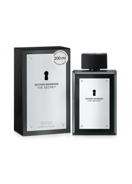 Perfume Antonio Banderas Secret Edt 200 Ml (h)