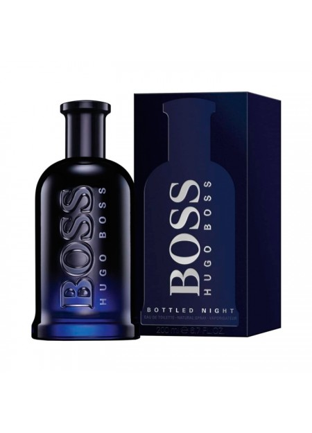 Perfume Hugo Boss Bottled Night Edt 200 Ml