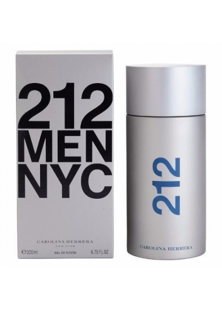 Perfume Carolina Herrera 212 Men Edt 200 Ml (h)