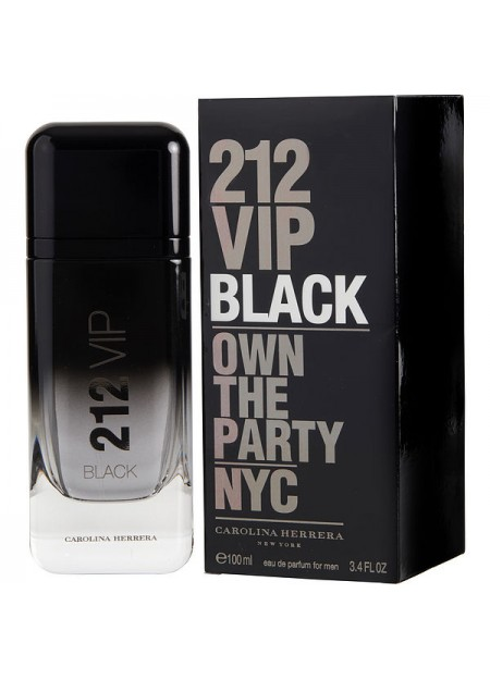 Perfume Carolina Herrera 212 Vip Men Black Edp 200 ML