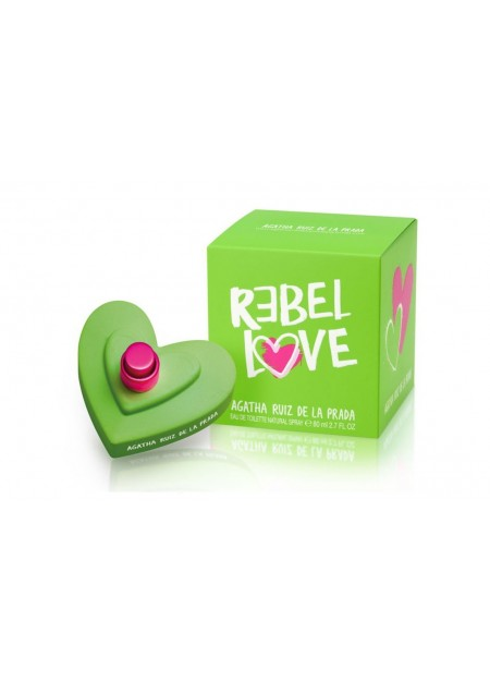 Agatha Ruiz De La Prada Rebel Love Edt 80 ml