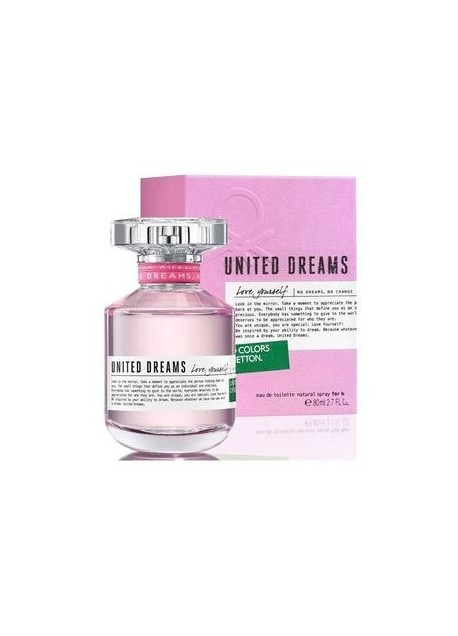 Perfume Benetton Love Yourself Edt 80 Ml (m)