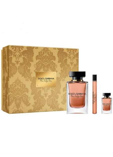 Perfume Dolce & Gabbana The Only One Edt Set 100 Ml 3 Pcs