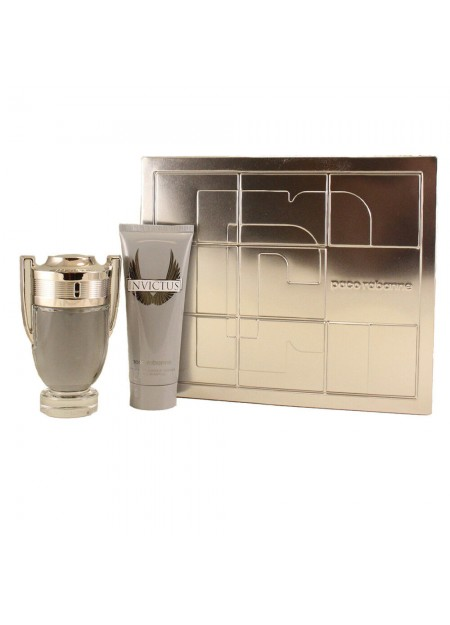 PERFUME SET PACO RABANNE INVICTUS EDT 100ML 2PCS HOMBRE