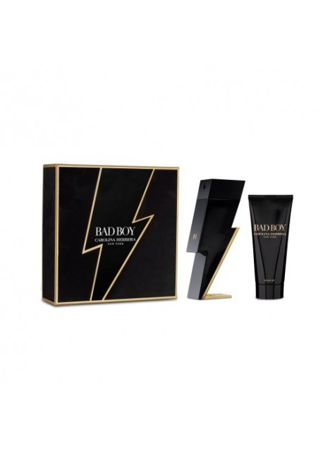Perfume Carolina Herrera SET Bad Boy Edt 2 pcs