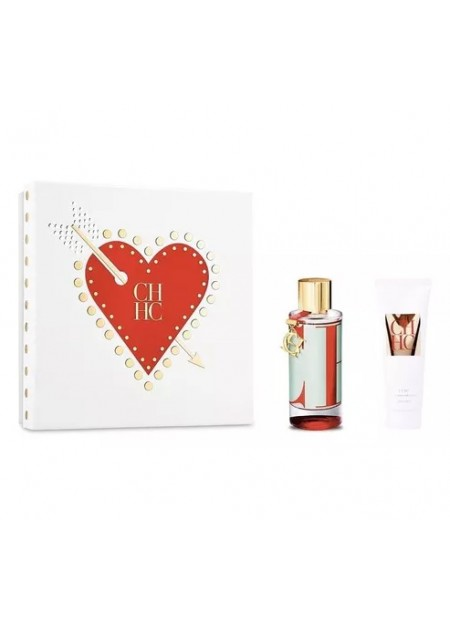 Perfume Carolina Herrera Set L'eau Edt 100 ml 2 Pcs
