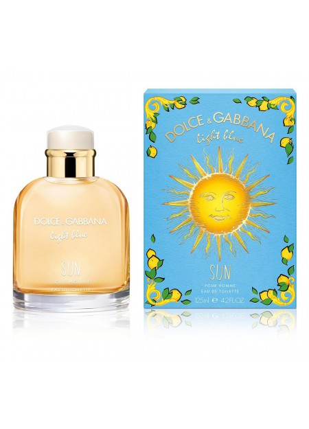 PERFUME DOLCE & GABBANA LIGHT BLUE SUN EDT 125ML HOMBRE