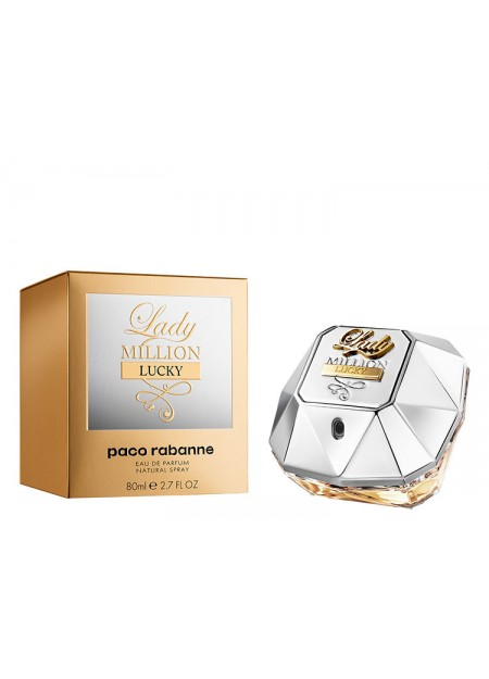 PERFUME PACO RABANNE LADY MILLION LUCKY EDP 80ML MUJER