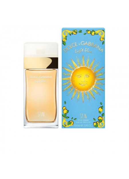PERFUME DOLCE & GABBANA LIGHT BLUE SUN EDT 100ML MUJER