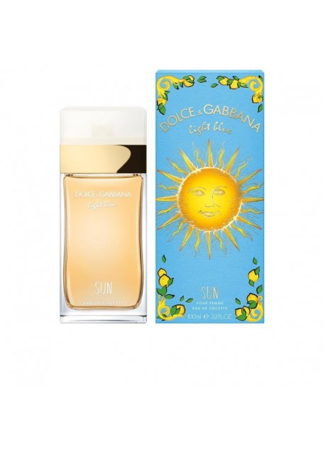 DOLCE & GABBANA LIGHT BLUE SUN EDT.