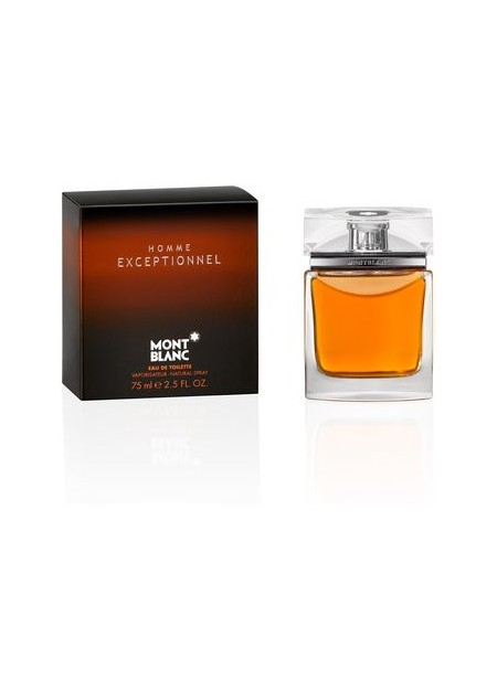 Perfume Mont Blanc Exceptionnel Homme tester Edt 75 Ml