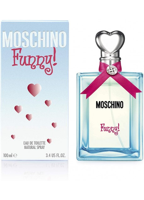 MOSCHINO FUNNY 100ML EDT.