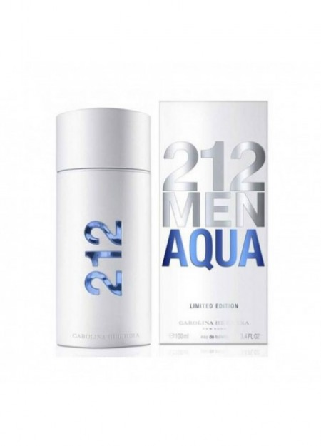 Perfume Carolina Herrera 212 Men Aqua Edt 100 Ml