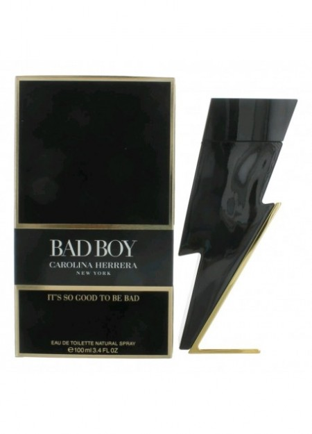 PERFUME CAROLINA HERRERA BAD BOY EDT 100ML HOMBRE