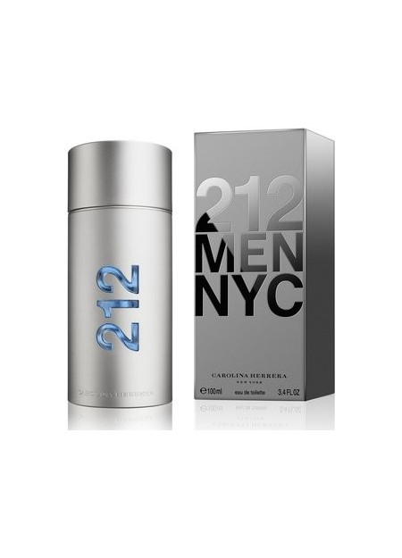 PERFUME CAROLINA HERRERA 212 MEN EDT 100ML HOMBRE