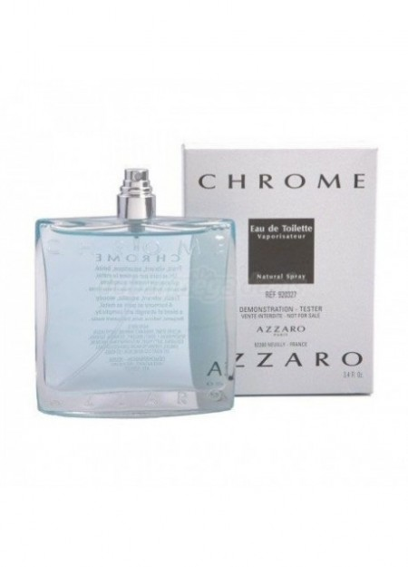 Perfume Azzaro Tester Chrome Edt 100 Ml