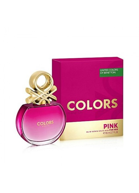 Perfume Benetton Colors Pink Edt 80 Ml