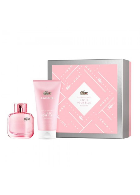 Set Lacoste Sparkling Edt 90 Ml Mujer 2Pcs