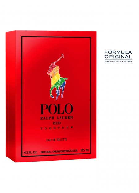 PERFUME RALPH LAUREN POLO RED TOGETHER EDT 125ML HOMBRE