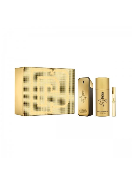 Set One Million Edt 100 Ml + Deso 150 Ml + 10 Ml Set 3 Pcs hombre