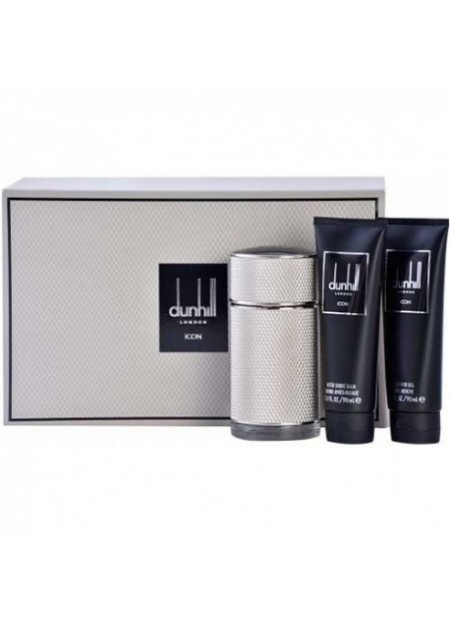 PERFUME SET DUNHILL ICON EDP 100ML 4 PCS HOMBRE